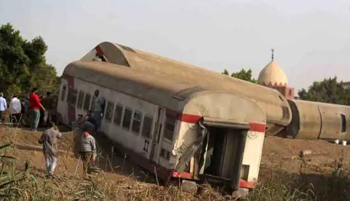 مسافر ٹرین حادثہ