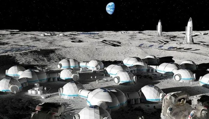 چاند پر گھر