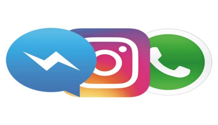 واٹس ایپ فیس بک انسٹا